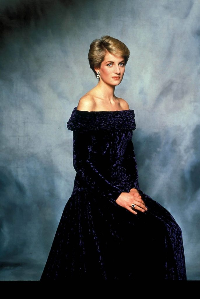 August 31, 2017 marks 20 years since Princess Diana's death. Diana Princess of Wales died from serious injuries in the early hours of August 31st 1997 after a car crash in Paris. Pictured: c. 1980's Princess Diana Portrait. (Credit: