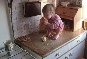10 уморительных снимков голодных детей (10 фото)!