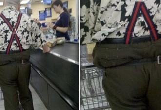 Эти люди одеваются так ужасно, что это даже завораживает! (12 фото)