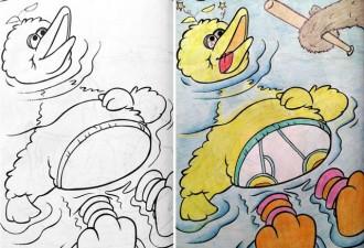 Вот что происходит, когда детские раскраски попадают в руки взрослых!  (10 фото)