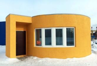 Дом в Московской области, который построили всего за сутки (фото, видео)