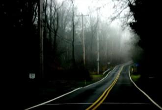 Они увидели посреди дороги окровавленную женщину, которая просила их остановиться