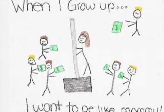 12 невинных детских рисунков, от которых у родителей волосы дыбом встали (12 фото)