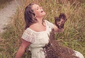 У мамы, которая снялась беременная с пчелами на животе, родился мертвый ребенок