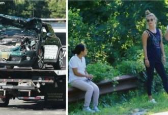 Вот как поступил Леонардо Ди Каприо, когда иммигрантка разбила его машину вдребезги! (3 фото)