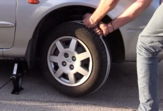 Все, что Вам нужно, это обернуть веревку вокруг колеса (видео)