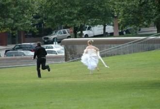 Жених удрал со свадьбы, не заплатив за банкет (2 фото)