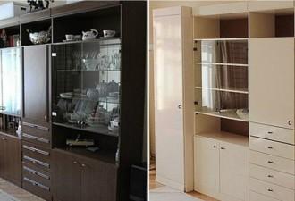 Советская мебель до и после переделки. Не сразу поверишь! (10 фото)