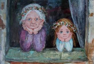 Трогательное про бабушек