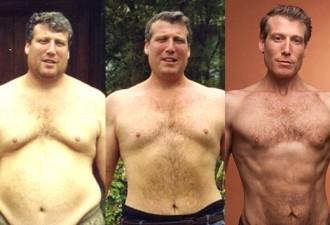 Он похудел на 100 кг без диет