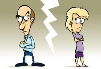 Девушка решила вмешаться в ссору мужа и жены