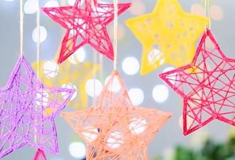 15 новогодних украшений, которые можно сделать за полчаса