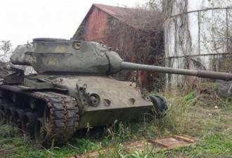 В интернете продают американский танк (7 фото)