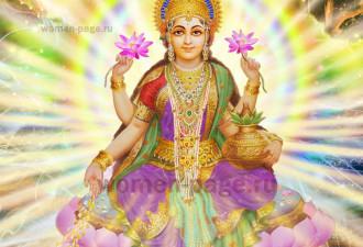 Богиня, которая приносит богатство