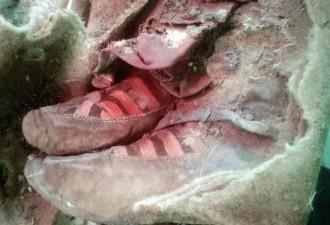 Мумия, которую обнаружили в кроссовках Adidas