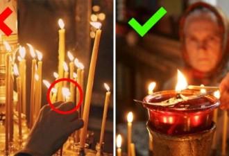 Знаешь ли ты, что нельзя поджигать свечу от рядом стоящей? (3 фото)