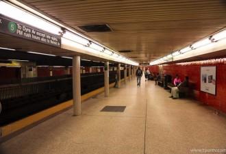 Эта женщина стала свидетелем скандала в метро