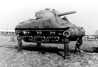 Надувные, картонные и брезентовые танки 1918-1954 годов — креативные хитрости военного времени (12 фото)