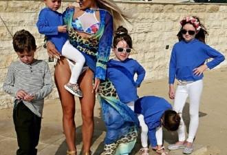 Похудевшая на 115-кг мама 5-х детей стала самой желанной женщиной Англии! (10 фото)