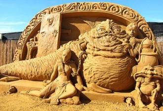 Скульптуры из песка. Что-то невероятное! (10 фото)