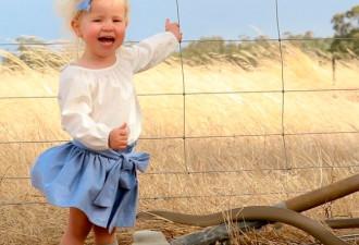 Жительница Австралии пришла в ужас, рассмотрев фото своей дочери (3 фото)