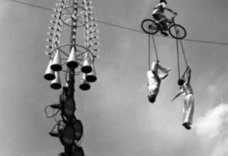 Безумие каскадеров начала ХХ столетия: такие трюки делаются раз в жизни! (13 фото)
