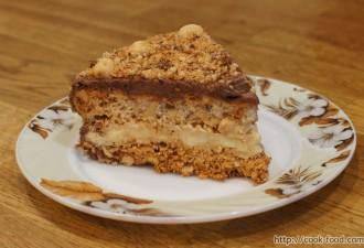 Жена попросила мужа записать рецепт киевского торта