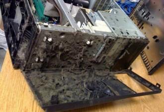 Однажды милaя дeвушка принесла мне компьютер на чистку. Я открыл и похолодел… (10 фото)
