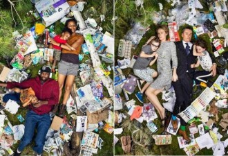 Шокирующие фото: сколько мусора производит человек всего за неделю (8 фото)