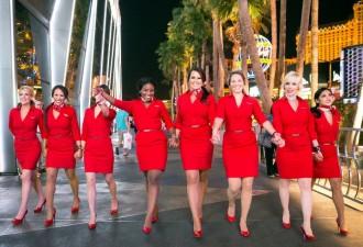 У каких авиакомпаний самые красивые стюардессы (10 фото)