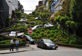 Чем так необычна одна из улиц в Сан-Франциско? (10 фото)