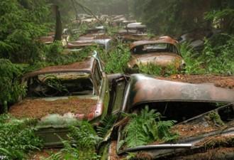 70 лет назад тут была обычная пробка. Но потом все психанули и ушли! (11 фото)