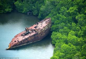 Боевые машины Второй мировой, затерянные на далеких островах в Тихом океане (10 фото)