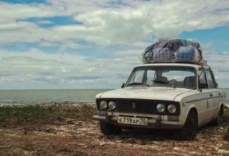 Четверо россиян проехали 12 стран Европы и Африки на старой «шестерке» (8 фото)