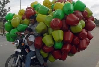 Особенности национальных перевозок (10 фото)