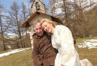 Она заполучила в мужья пожилого миллионера (5 фото)
