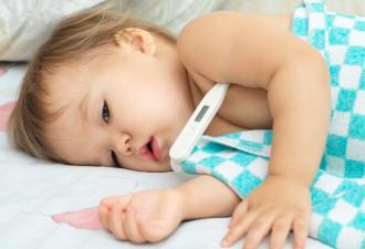 Что НЕЛЬЗЯ, а что НУЖНО делать при высокой температуре у ребенка!