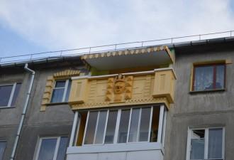 Самые суровые российские балконы, которые вводят в полный ступор (10 фото)