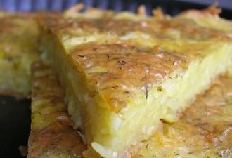 Она смешала натёртый картофель с сыром и чесноком и отправила в духовку (8 фото)