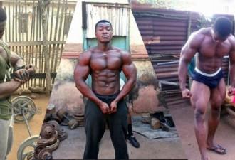 Монстры из Африки: отсутствие спортзала — не оправдание (10 фото)