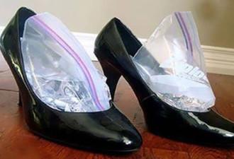 Гениальный трюк, который позволит расширить тесную обувь, чтобы носить ее без боли и дискомфорта.