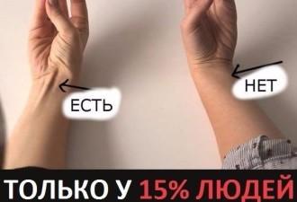 Только у 15% людей такие руки. Узнайте чем вы отличаетесь от других!