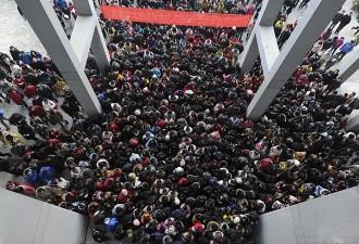 Шокирующие фотографии о том, сколько в Китае живёт людей (14 фото)