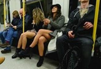 Оригинальный случай в метро