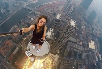 Западные СМИ признали 23-летнюю россиянку автором самых опасных в мире селфи (10 фото)