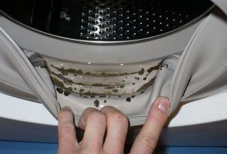 Это средство вмиг избавит стиральную машину от запаха и плесени