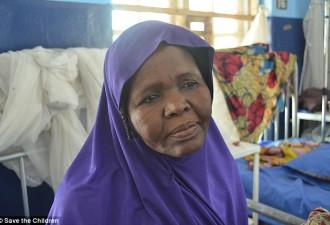 Она спасла внучку от голодной смерти невероятным способом (4 фото)