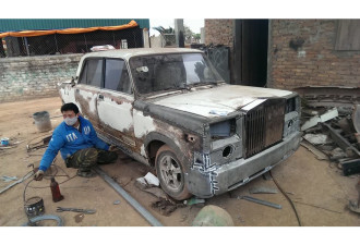 Понты для бедных, или Rolls Royce из Жигулей (9 фото)