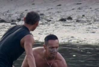 Серферы услышали плач на пляже. Посмотрите, что это за существо оказалось… (4 фото)