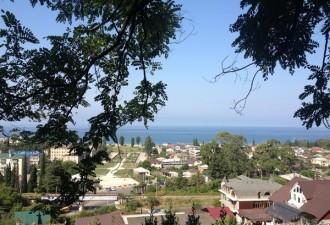О том, как я чуть не померла в Абхазии